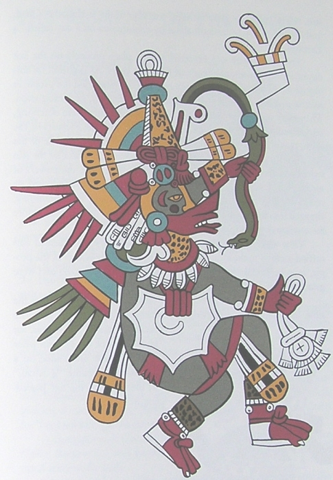 Quetzalcoatl, the god of life