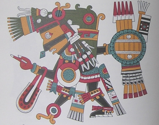 Tezcatlipoca, god of darkness
